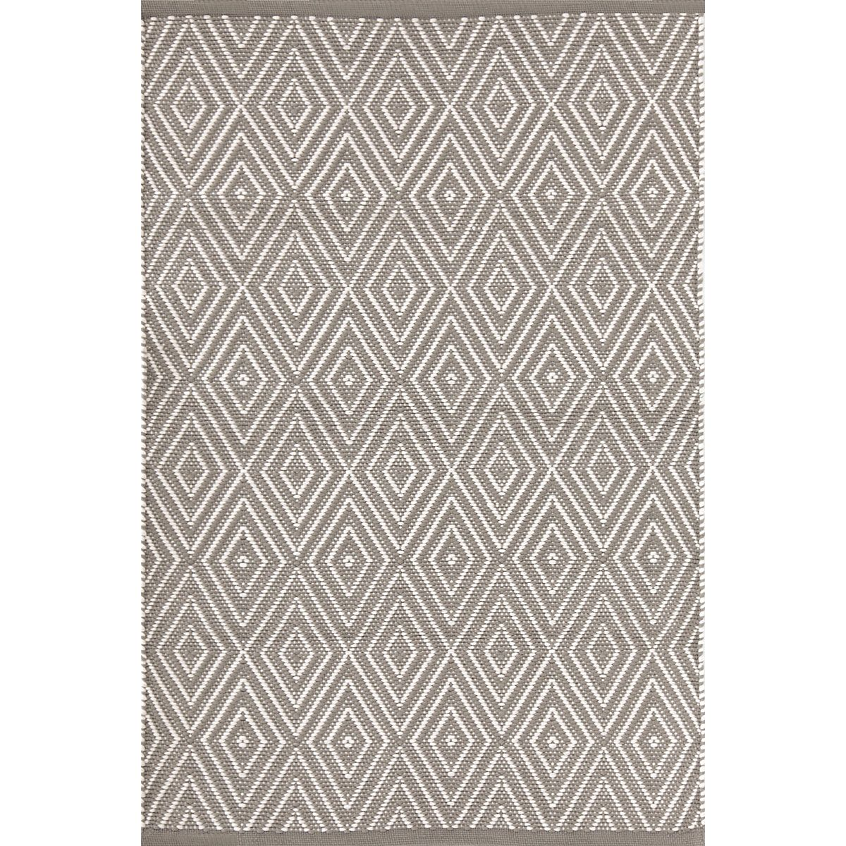 Diamond Fieldstone Ivory Indoor Outdoor Rug