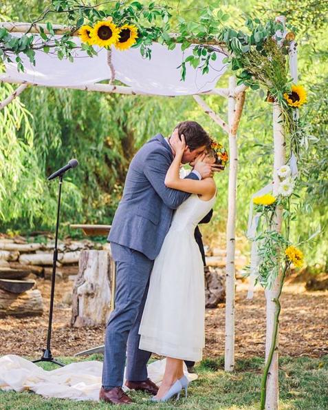 "Next on ""Best of the best of #shareenbridal 2015: Her Beloved"" is Emily&Matt. Photo @cararobbins. Flowers @chicabloomfarm. #shareendotcom #bride #bridal #bohobride #bestof2015 #bestofthebest #bohemianwedding #commitment #herbeloved #husbandandwife #indiebride #indiewedding #love #marriage #nontraditionalbride #nontraditionalbridal #nontraditionalwedding #photo #wedding"