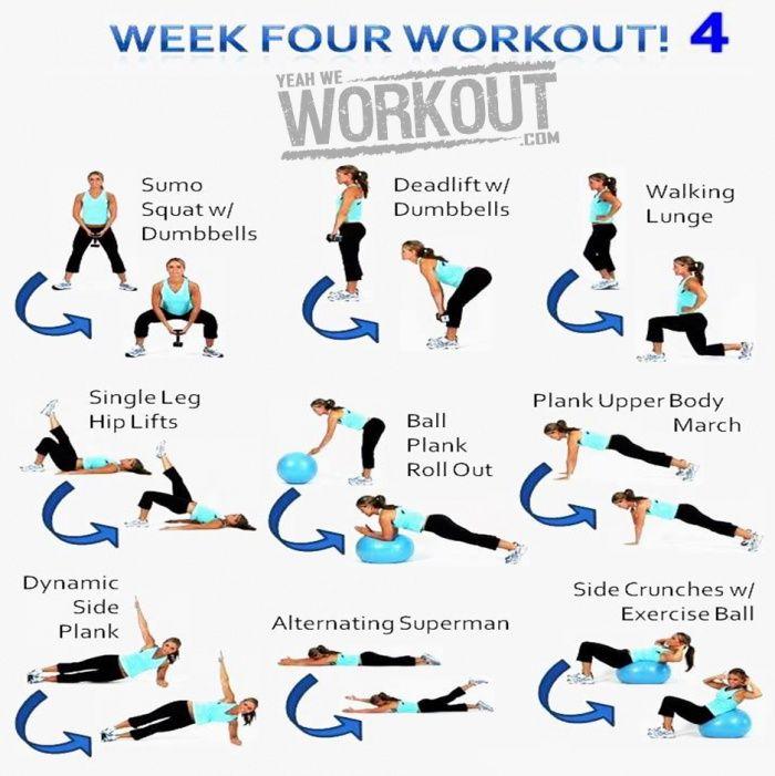 Week Four Workout Plan 4