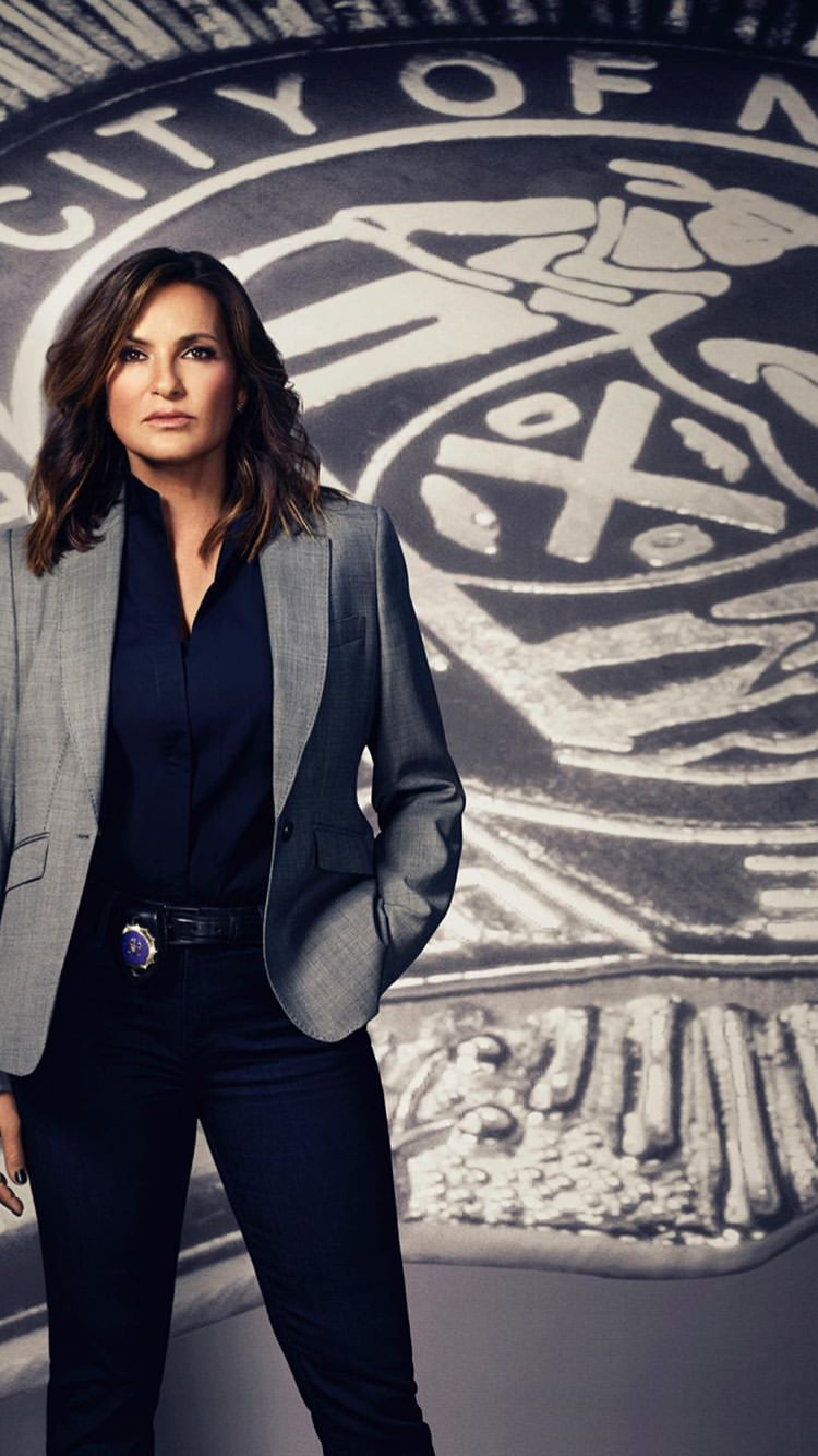 Iphone Wallpaper In 2019 Olivia Benson Mariska Hargitay
