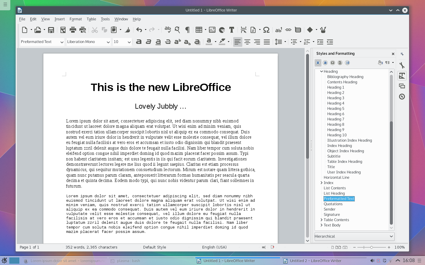 LibreOffice is the flagship office suite for Linux. It's also quite popular with Windows users. As a free, open-source and cross-platform solution, LibreOffice allows people to enjoy the worl…