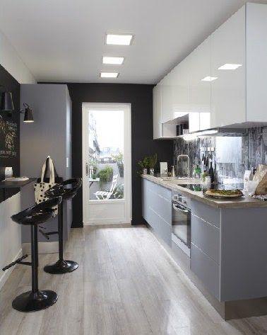 5 aménagements pour une cuisine en longueur | Kitchens