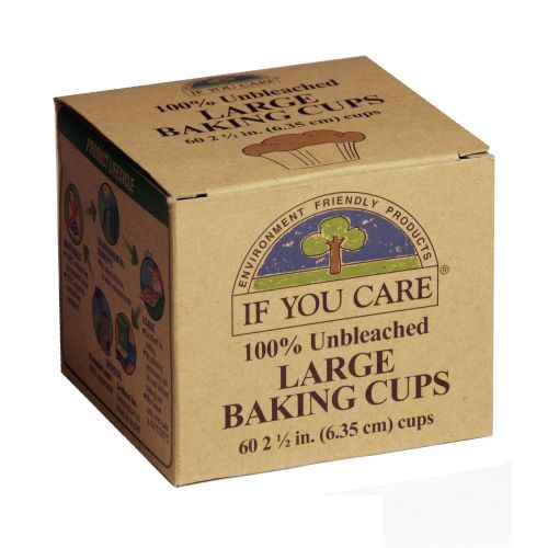 Eco friendly cake cases.