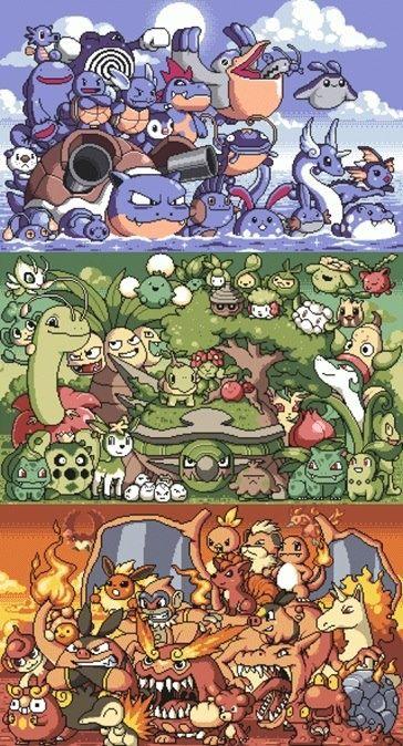 pokemon blue vs red