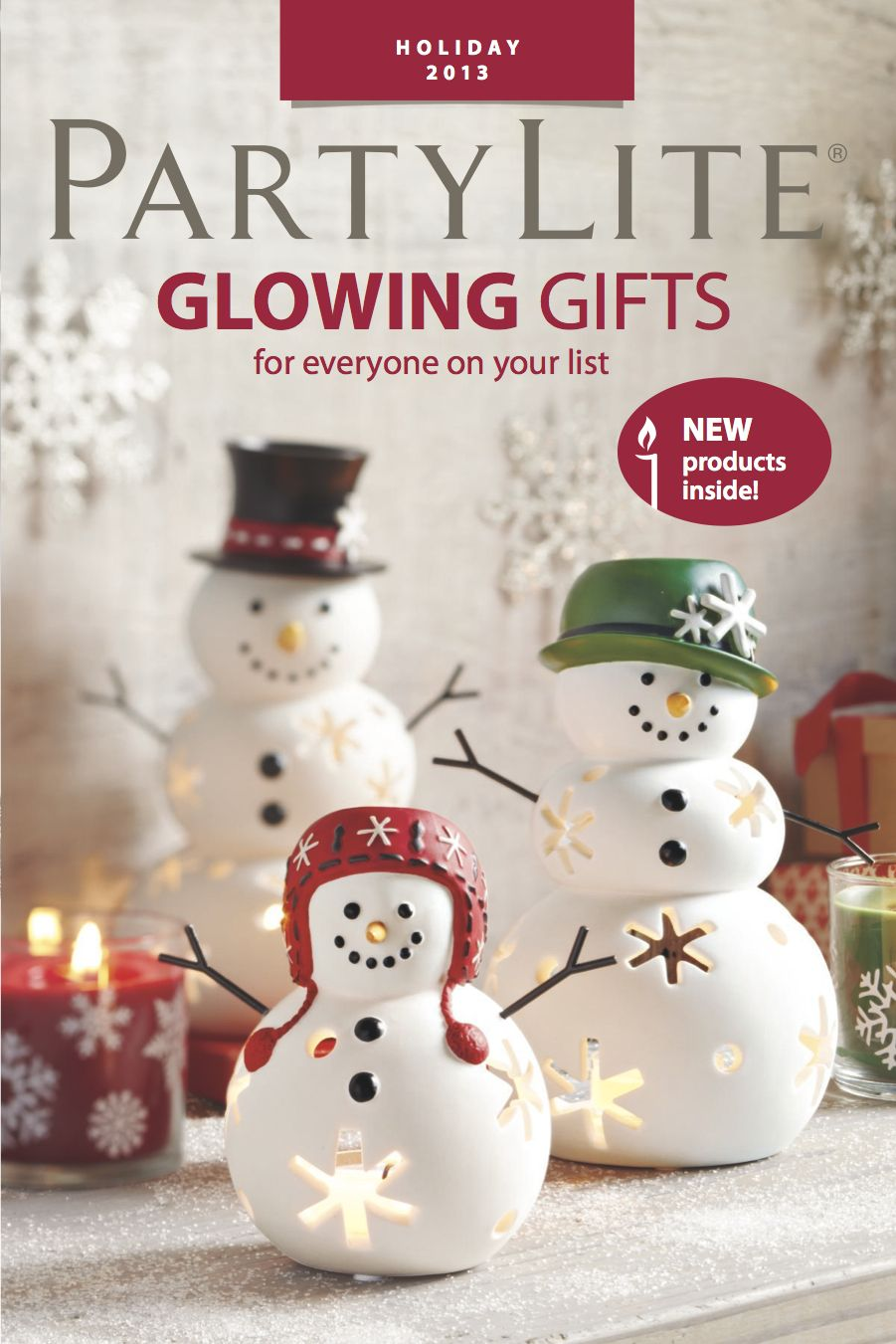 NEW #PartyLite Glowing Gifts Catalog. #Christmas #candles ...