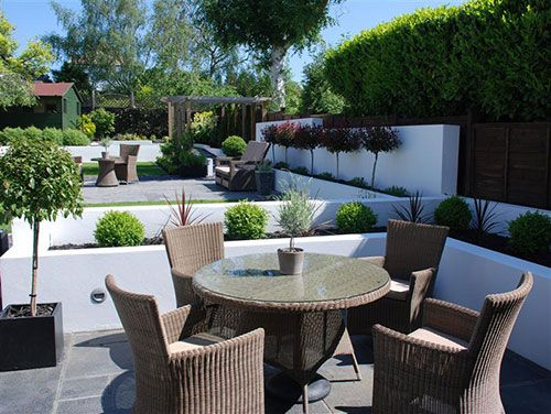 Grote Moderne Tuin : Grote moderne tuin garden moderne tuin huis en
