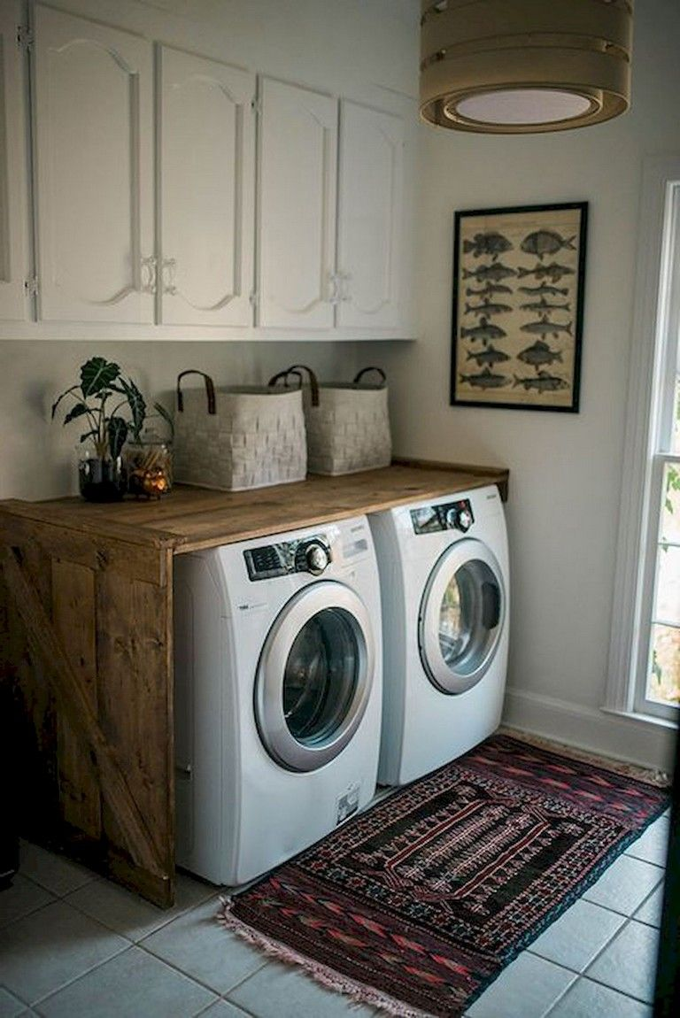 68+ Stunning DIY Laundry Room Storage Shelves Ideas images