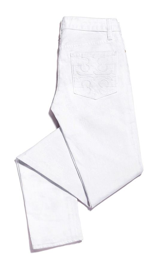 Tory Burch Super Skinny Jean... Nothing sexier than white jeans!