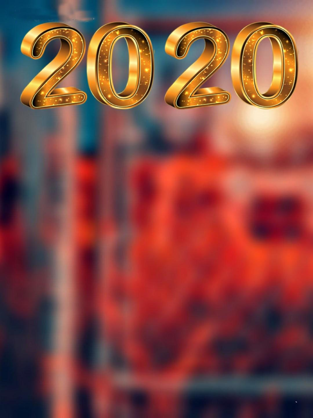 Top New Year 2020 Editing Background Happy new year