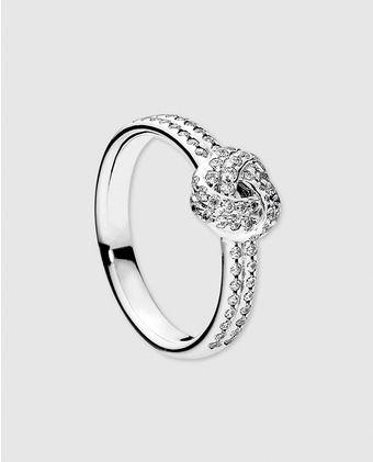 anillos de plata de pandora