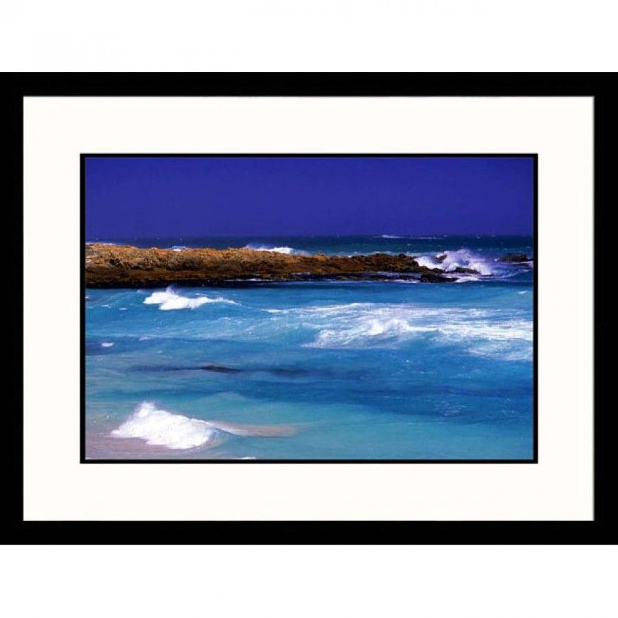 Great American Picture South African Beach Framed Photograph ...