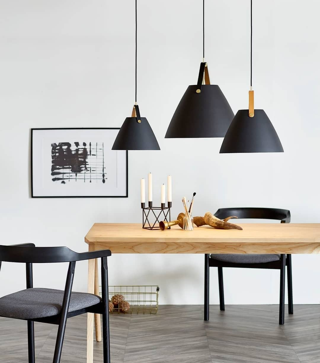 Dftp Nordlux Strap 36 Ceiling Pendant Light Black With Images