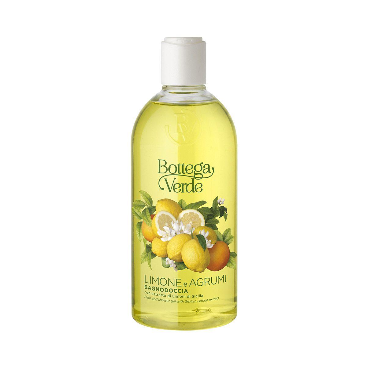Limone E Agrumi Bagnodoccia Con Estratto Di Limoni Di Sicilia