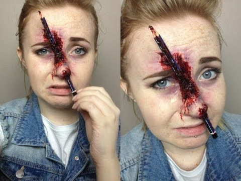 Prosthetic Makeup Pinterest Halloween makeup, Makeup and - scary halloween ideas