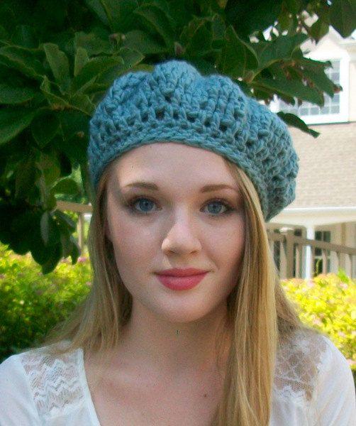 Blue Sky Fashion Crochet Floppy hat