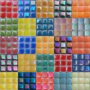 Elementile 8mm Iridescent Mosaic Mosaic Tile Supplies Mosaic