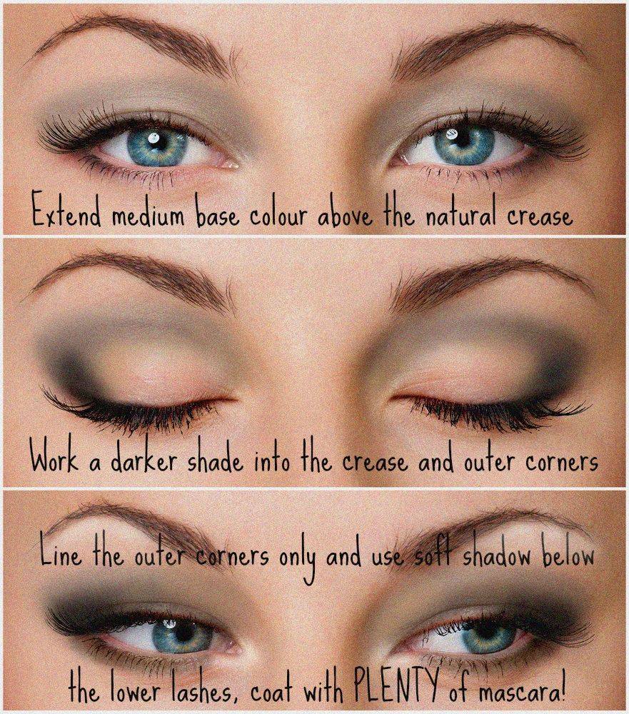 Pretty makeup for hooded eyes  Hooded eye makeup, Makeup for