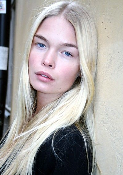 Usually Not Into The Blonde Hair Blue Eyed Look But Klara S One Of My Faves At The Moment Classic Swedish Beaut Swedish Blonde Blonde Hair Models Nordic Blonde