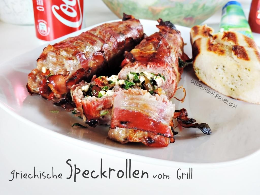 *Starlights in the Kitchen*: [FOOD] griechische Speckrollen vom Grill