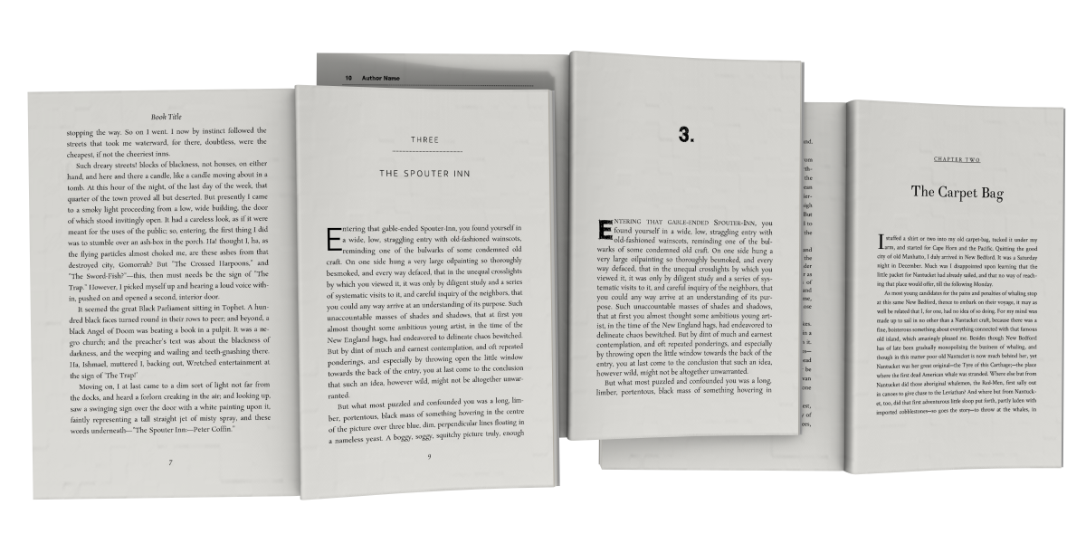Book Design Templates  Tools For Self Published Authors Writers
