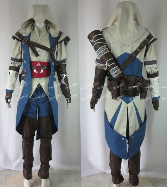 Assassins Creed Iii Ac 3 Connor Kenway Cosplay Costumes On Etsy
