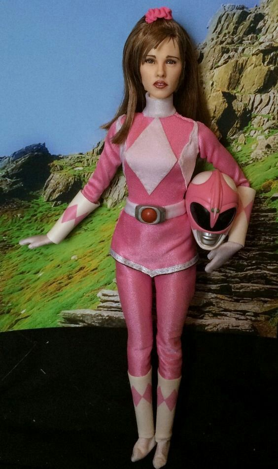 "Power Rangers Mighty Morphin 6/"" Action Figure Kimberly MMPR Pink CUSTOM"