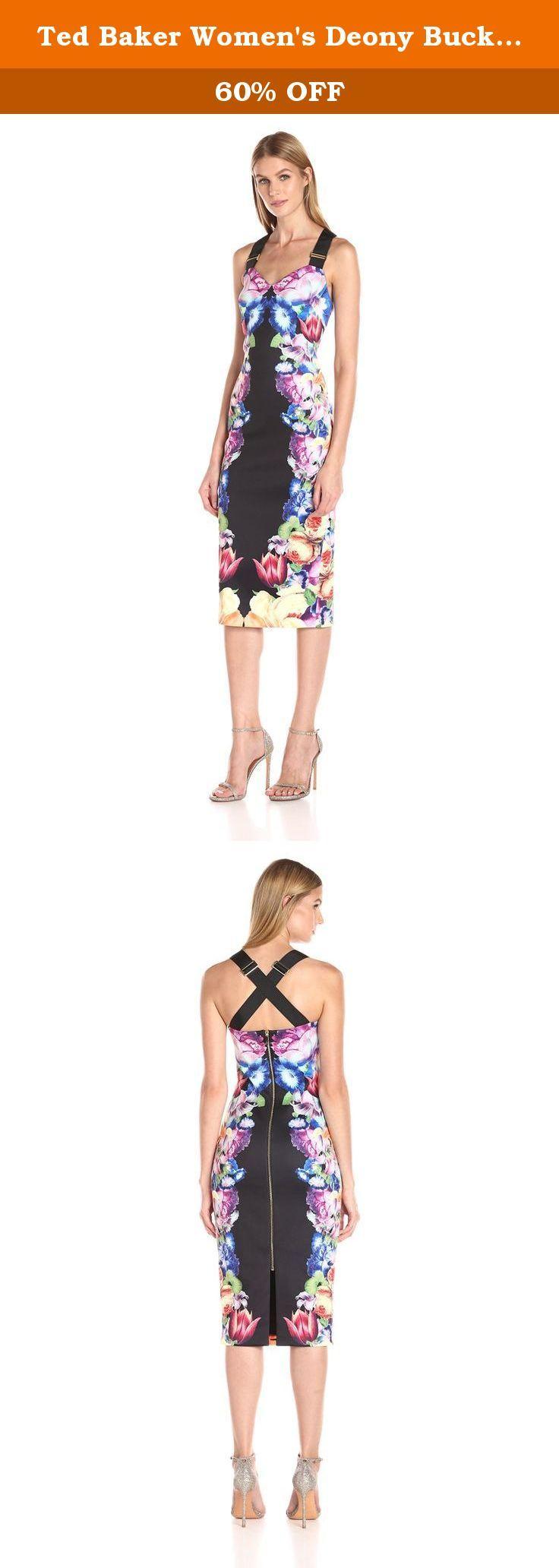 e83d337e73e65 Ted Baker Women s Deony Buckle Detailed Dress