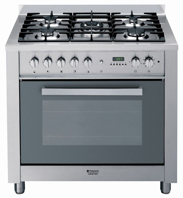 HOTPOINT ARISTON Cuisiniere Gaz Professionnelle EXPERIENCE - Cuisiniere 3 feux gaz pour idees de deco de cuisine