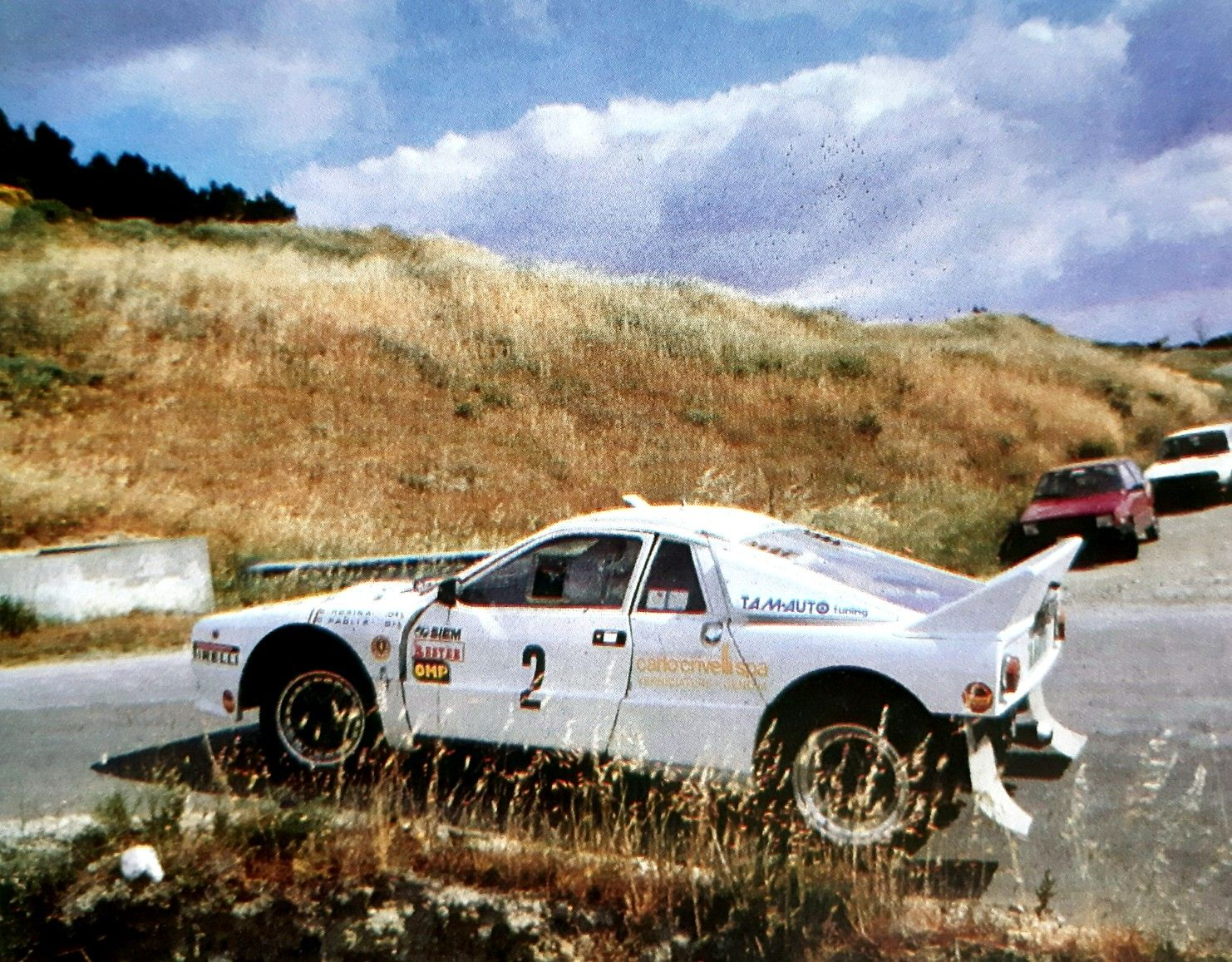 Coppa Italia Rally Monti Dauni Foggia 1986 Lancia Rally 037