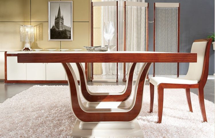 mesas de madera modernas para comedor - Buscar con Google ...