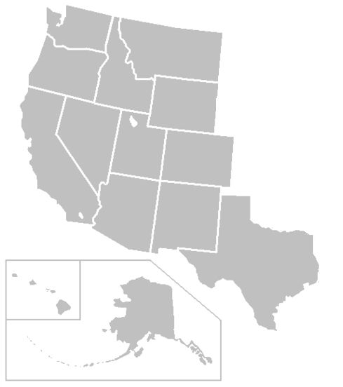 western us map blank map of west united states 489 x 552 pixels