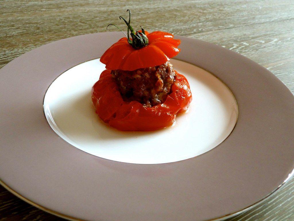 Tomates et courgettes farcies au Multicuiseur | Recette ...