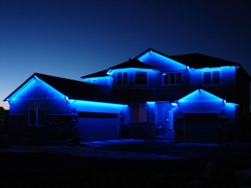 led light strips are perfect for decorating your home for the holiday christmas season - Led Blue Christmas Lights