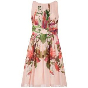 b73ee5faa Ted Baker Carli Symmetrical Orchid Print Dress