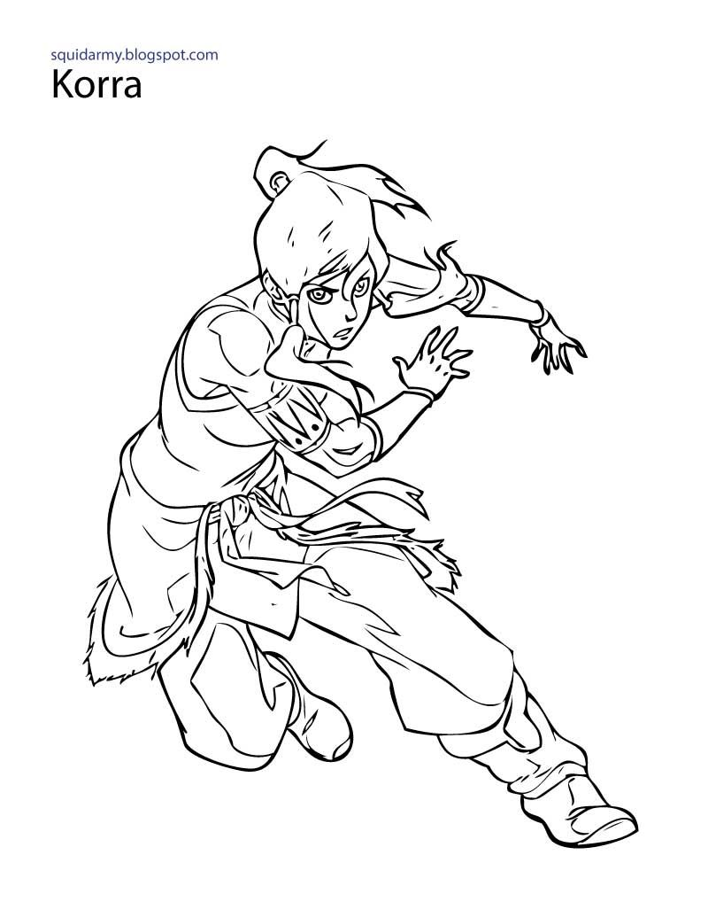 The Legend Of Korra Coloring Pages Gallery Unicorn Coloring Pages Coloring Pages Coloring Books