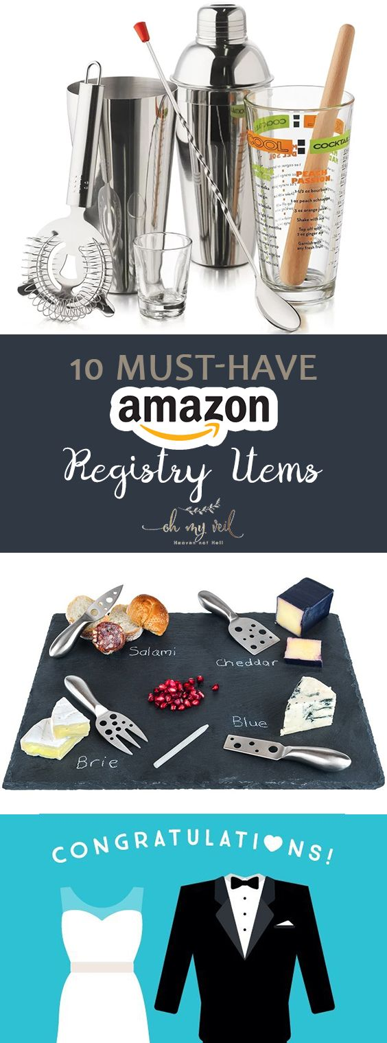 10 MustHave Amazon Registry Items Cheap wedding gifts