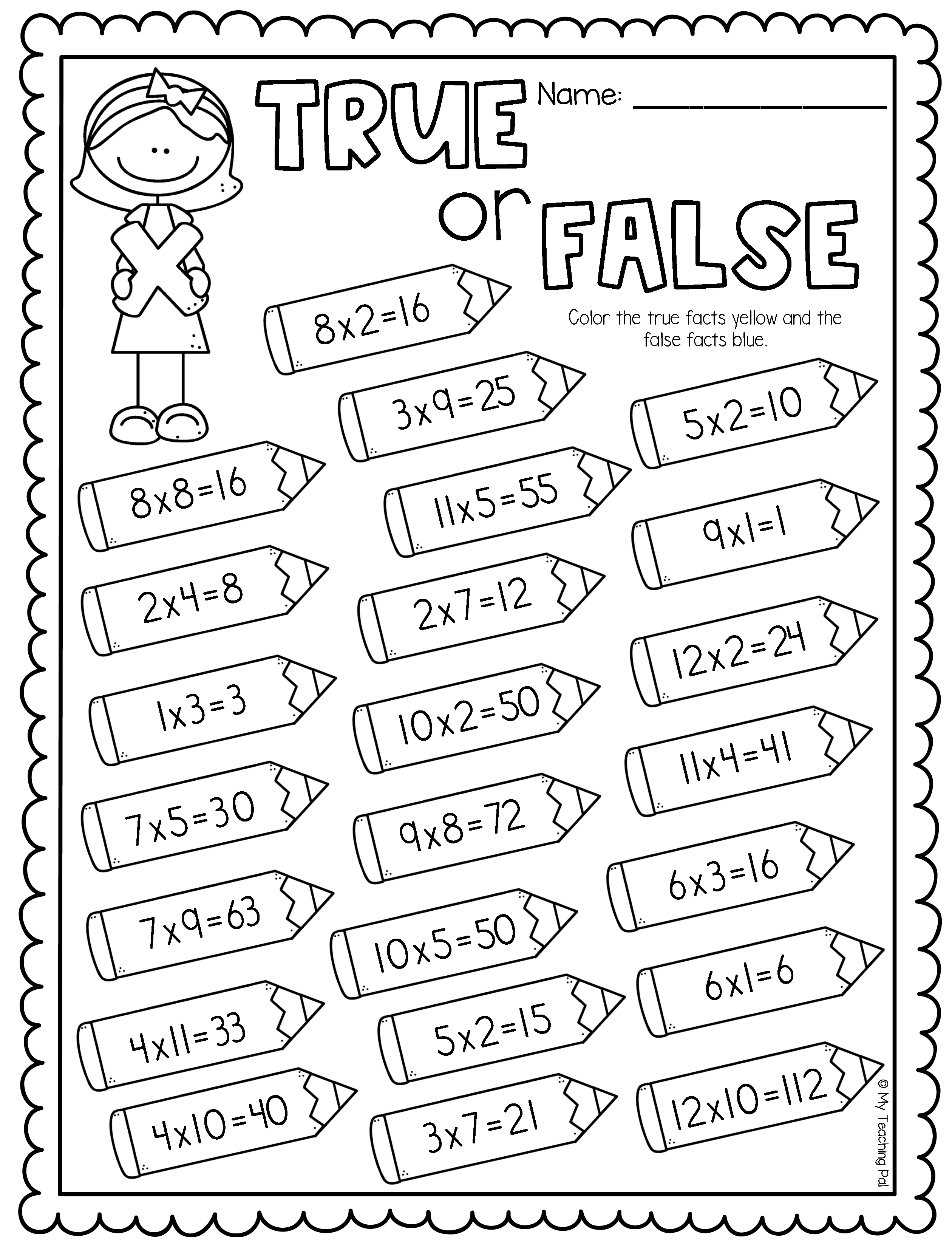 Multiplication Review Worksheets And Activities In