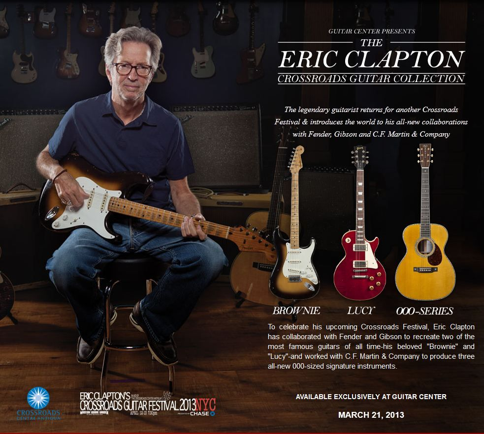 Eric Clapton Wife Gallery Fender Custom Shop Eric Clapton Brownie Tribute Stratocaster Eric Clapton Eric Clapton Guitar Eric