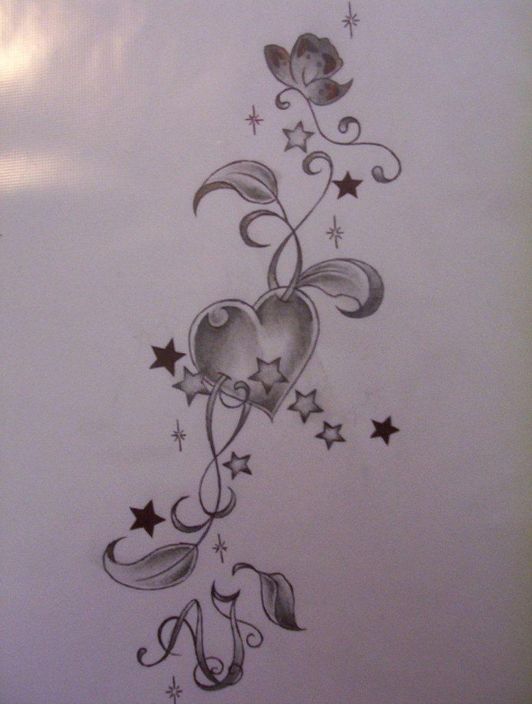 Heart tattoos designs - Image Detail For Heart Tattoo Design By Tattoosuzette Designs Interfaces Tattoo Design
