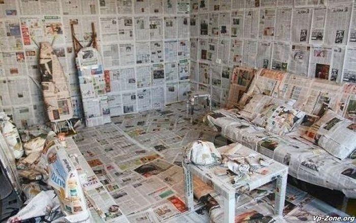 некоторое прикольные фото про ремонт квартир минусы