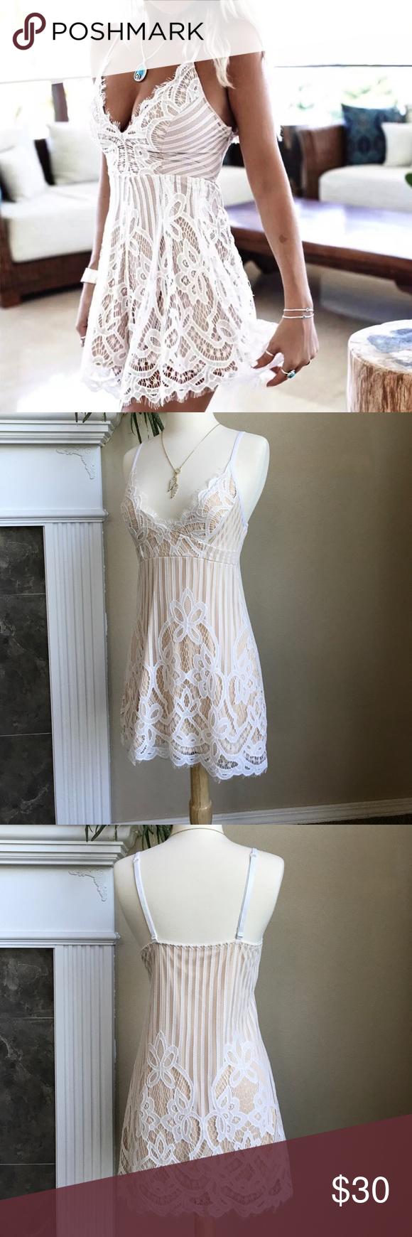 Lace Slip Dress Lace Slip Dress Lace White Dress Dresses [ 1740 x 580 Pixel ]