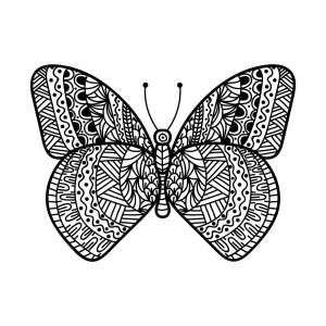 Mandala Schmetterling Schmetterling Mandalas Zum Ausdrucken Ausmalbilder Schmetterling