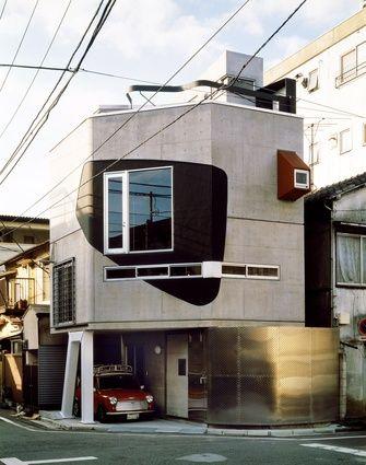 Bolles-Wilson. Suzuki House, Tokyo, 1993. www.architectureau.com