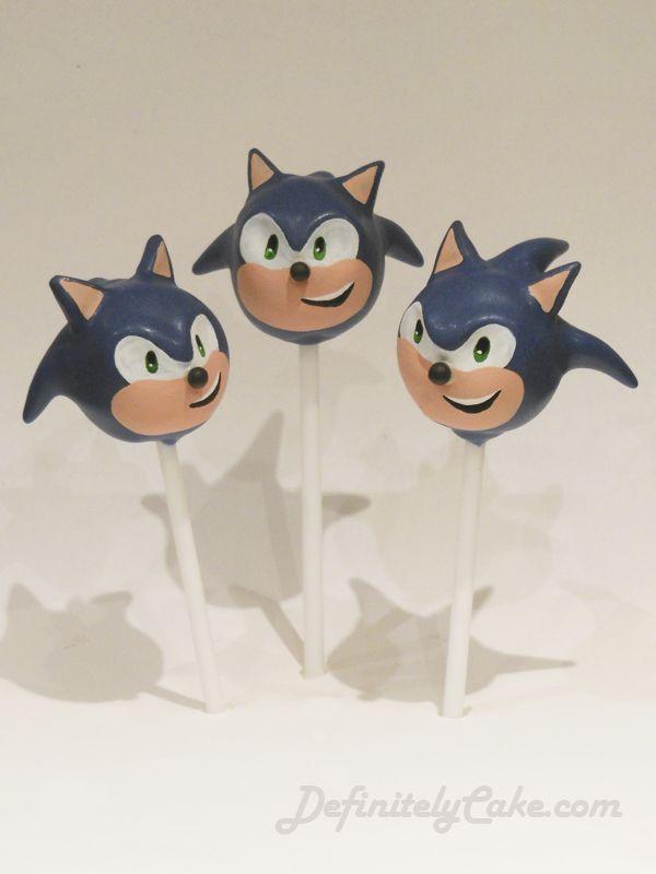 Definitely Cake Artisans Of Cake Pops Sonic The Hedgehog Cake Hedgehog Cake Sonic Cake