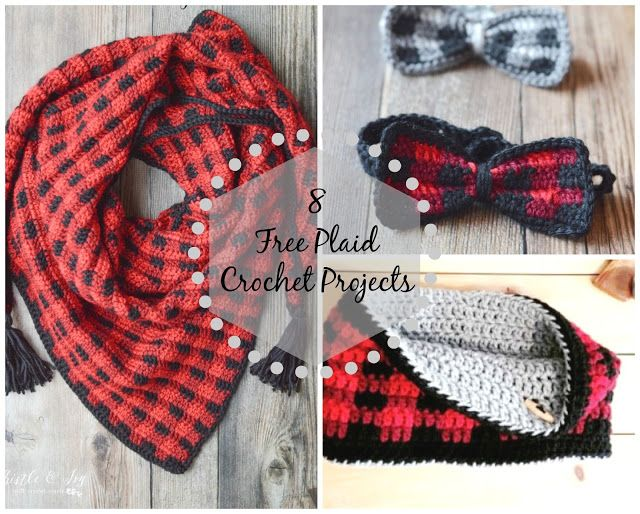 Little Treasures: 8 Free Plaid Crochet Projects   Sweet Inspiration ...