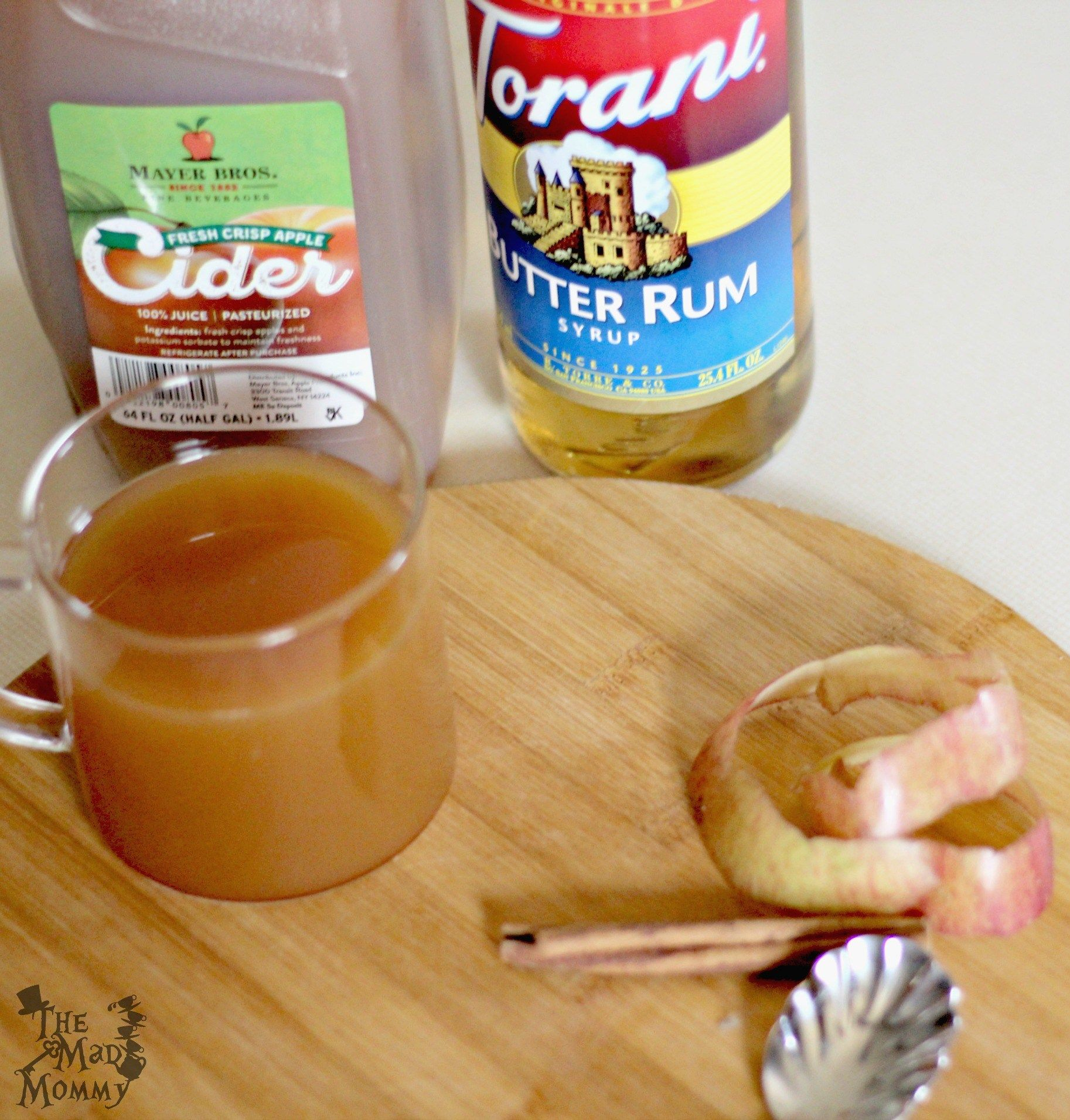 Butter Rum Apple Cider Recipe
