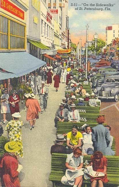 100年前、7000以上のベンチによって繁栄した街があった!ベンチで育くまれたシビックプライドが、現代の市民をも突き動かす感動の街・セントピーターズバーグ。   大西正紀/GroundLevel   note