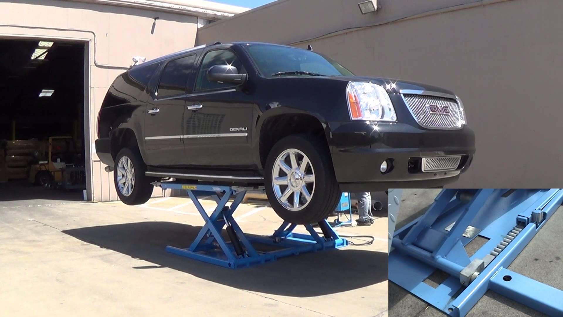 Atlas Kwik Bay 7 000 Lb Mid Rise Lift Lifted Cars Portable Lifts Kwik