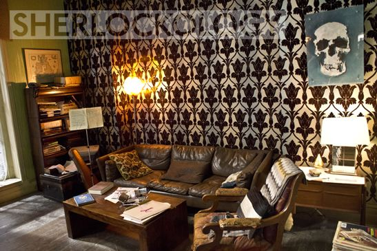 Sherlock Season Behind The Scenes Pictures Of Production And Set Design On Show