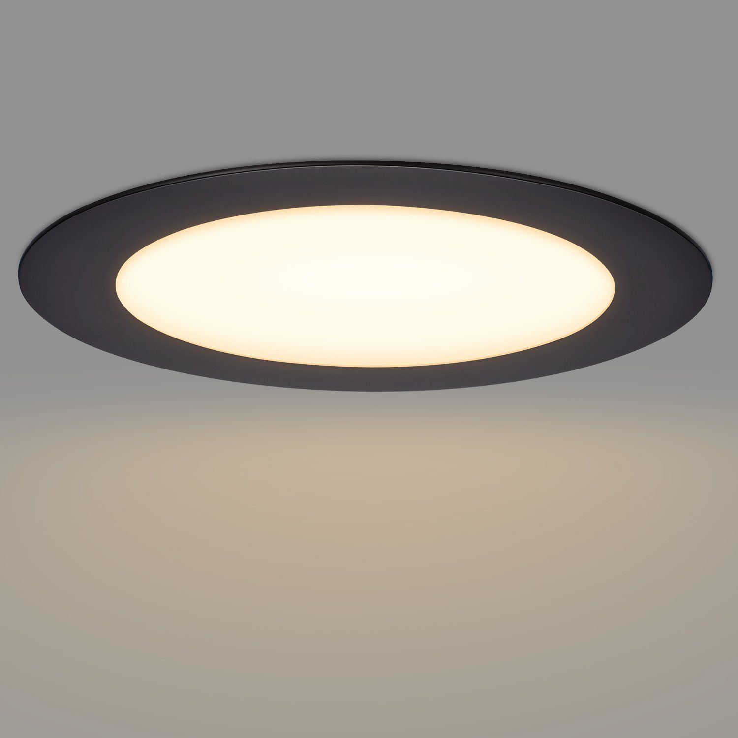Getinlight Slim Dimmable 3 Inch Led Recessed Lighting Round Ceiling Panel Junction Box Included 4000kbri Led Recessed Lighting Recessed Lighting Light Fixtures